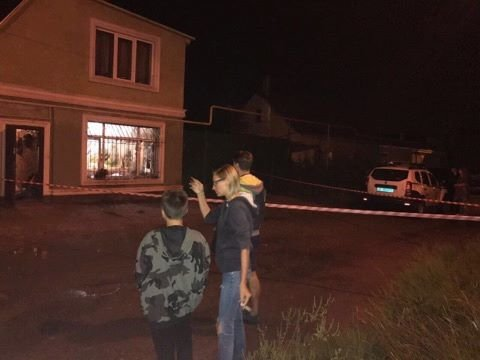 ВОдессе произошел взрыв: вокно жилого дома бросили гранату