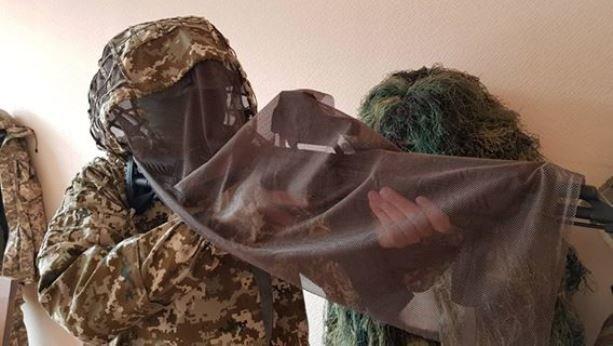 Размещены фото нового маскировочного костюма для снайперов ВСУ