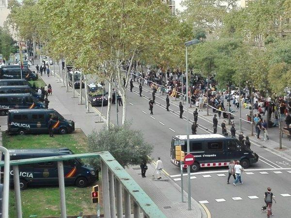 ВКаталонии началась забастовка приверженцев независимости региона