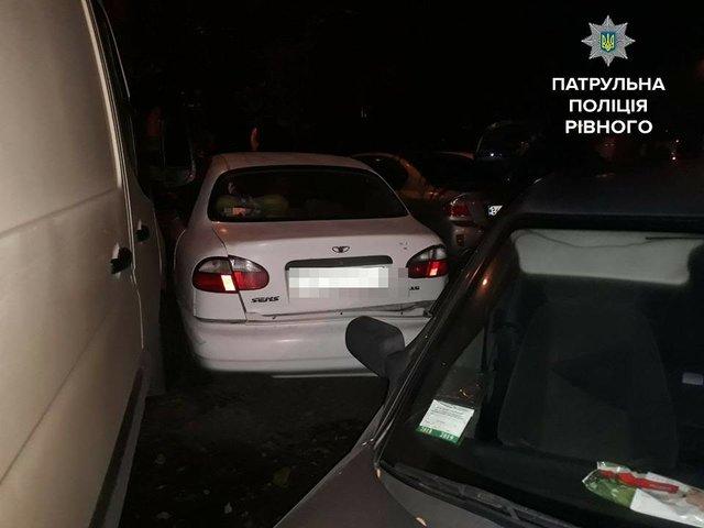 ВРовно пьяная женщина зарулем разбила 4 машины