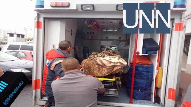 Мосийчука на«скорой» вывезли изчастной поликлиники