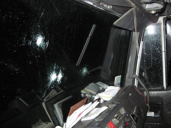 Преступники обстреляли фургон натрассе Киев-Чернигов и забрали сейф