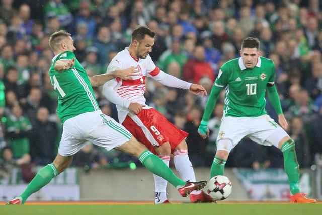 Сев. Ирландия— Швейцария 0:1 Видео гола иобзор матча