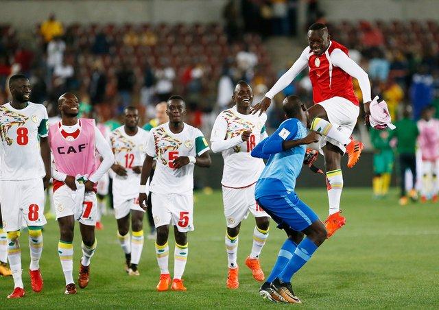 Сборная Сенегала завоевала путёвку начемпионат мира в РФ