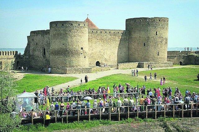 Аккерманская крепость. Одно из самых посещаемых мест. Фото: arkadia-travel.com.ua