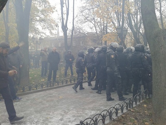 ВОдессе проломили голову главе городской милиции