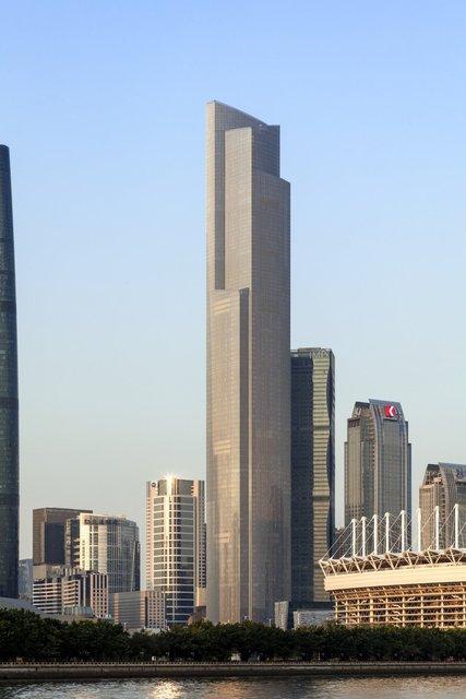 7. CTF Finance Centre, Гуанчжоу, Китай. Фото: Courtesy of Emporis/Tim Griffith