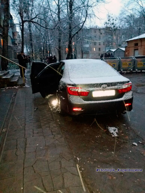 """Автомобіль співробітника Нацполіції підірвано в Харкові, правоохоронця госпіталізовано, - """"Інтерфакс-Україна"""" - Цензор.НЕТ 3430"""