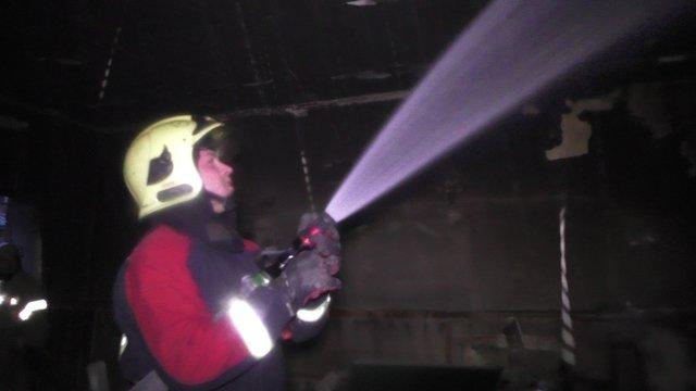 Пожар вшколе 11 вЧерновцах
