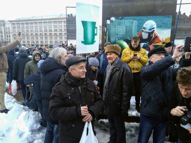 Жалкое зрелище: Саакашвили высмеял акцию приверженцев Порошенко