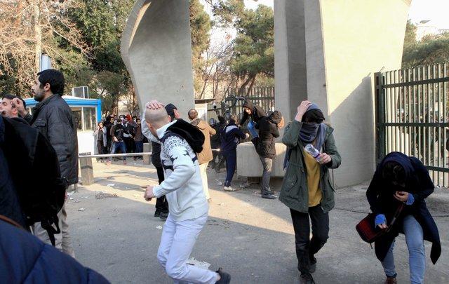 Лидер Ирана обвинил противников  страны ворганизации протестов
