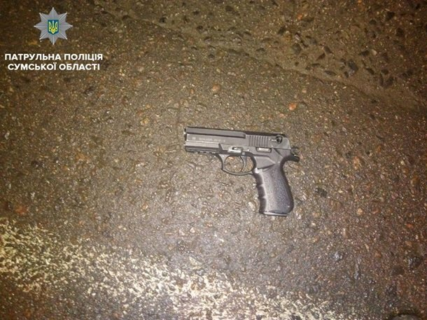 Конфликт вСумах: пистолет, стул идвое раненых