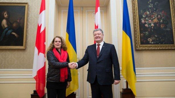 Двусторонний товарооборот между государством Украина иКанадой вырос на60% - Порошенко