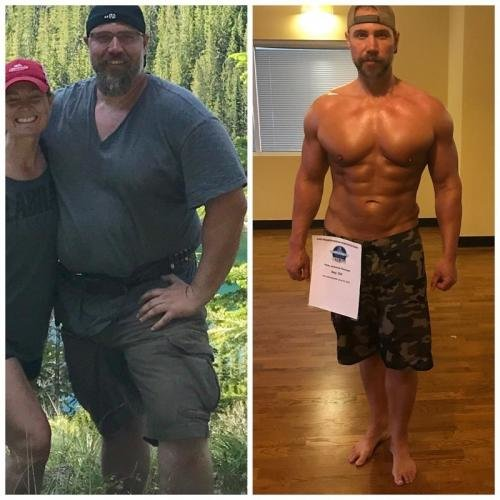 Мужчина похудел ради секса