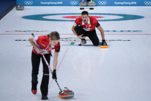 Русские керлингисты проиграли канадцам наОлимпиаде