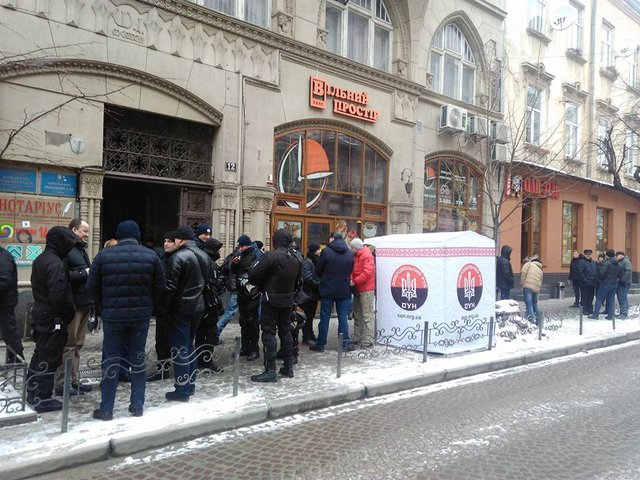 ВоЛьвове судили добровольцев ОУН: обвиняемый вскрыл себе вены