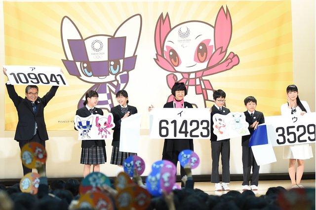 Японские дети выбрали талисманы Олимпийских игр вТокио 2020 года