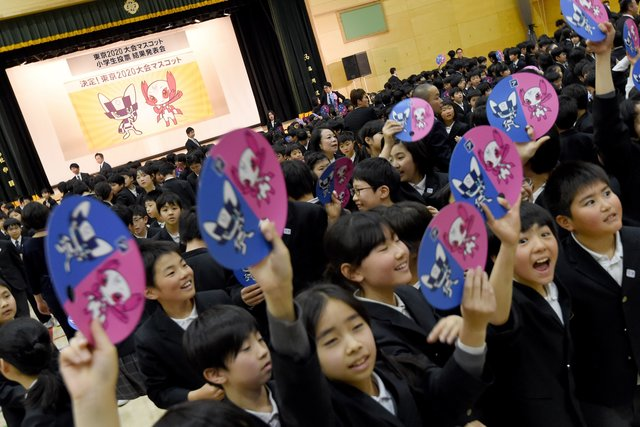 ВЯпонии выбрали символы Олимпиады