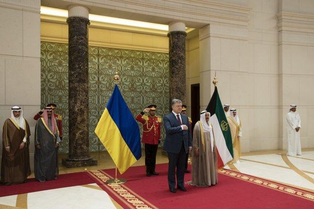 Порошенко сказал о достигнутых результатах переговоров вКувейте: «Новая страница отношений»