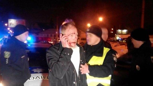 В Харькове пьяный лихач устроил пять ДТП и протаранил машину копов, фото-2