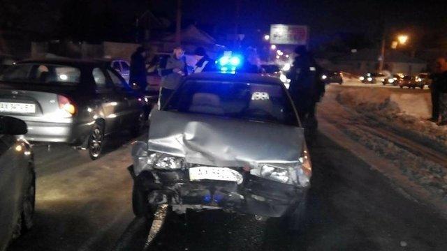 В Харькове пьяный лихач устроил пять ДТП и протаранил машину копов, фото-8