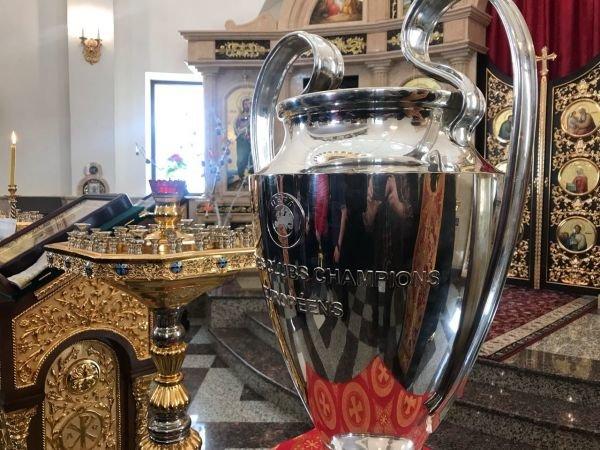 Кубки Лиги чемпионов УЕФА презентовали вХарькове