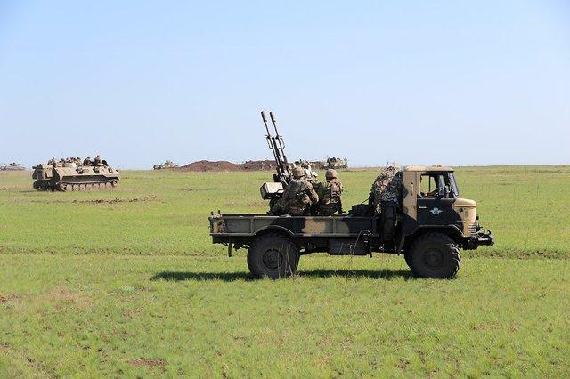 Украинские десантники отработали высадку втыл врага— Учения ВСУ