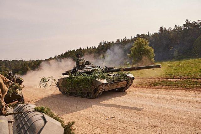 Германские маневры Combined Resolve: ВСУ обучаются наступать