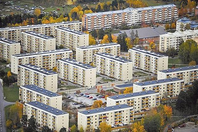 Ринкеби. Пригород Стокгольма — один из самых известных районов социальной застройки в Швеции