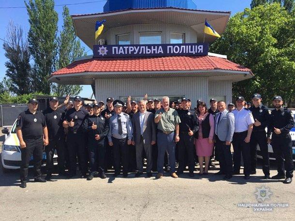 ВХерсонской области начала работу «севастопольская» и«крымская» милиция