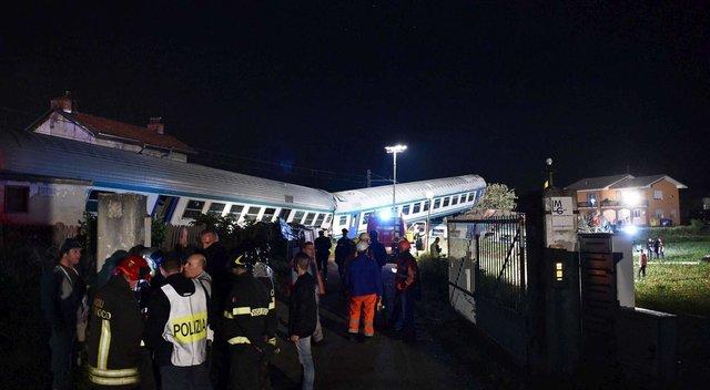 Моторошна ДТП в Італії: перекинувся потяг, є загиблі