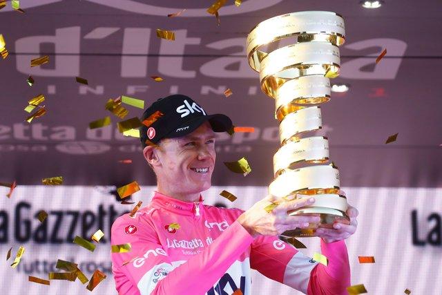 Джиро-2018: Фрум сохранил розовую майку лидера перед последним этапом
