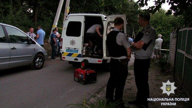 Милиция подозревает покушение: Взрыв авто вХарькове