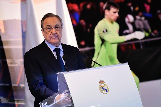 """«Для """"Реала"""" внушительная  радость, что Лунин выбрал Мадрид»— Альваро АРБЕЛОА"""