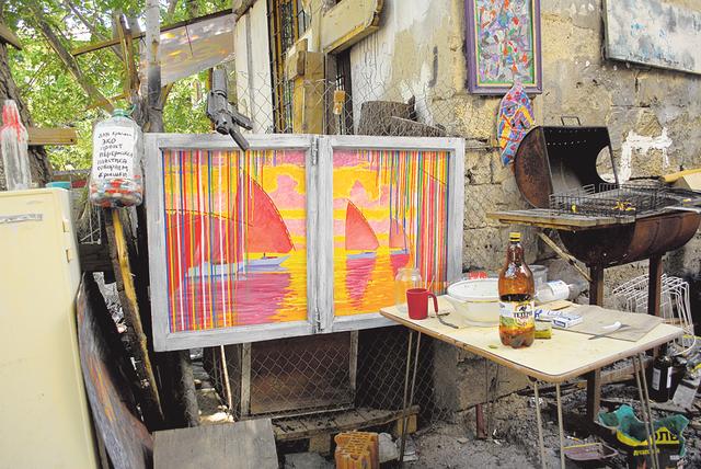 Живопись. Стала известна среди иностранцев. Фото: П.Мордынская