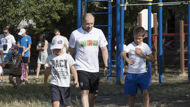 """Для детей с ограниченными возможностями """"Шахтер"""" организовал тренировки , фото-1"""