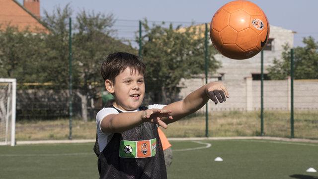 """Для детей с ограниченными возможностями """"Шахтер"""" организовал тренировки , фото-6"""