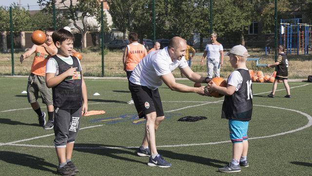 """Для детей с ограниченными возможностями """"Шахтер"""" организовал тренировки , фото-7"""