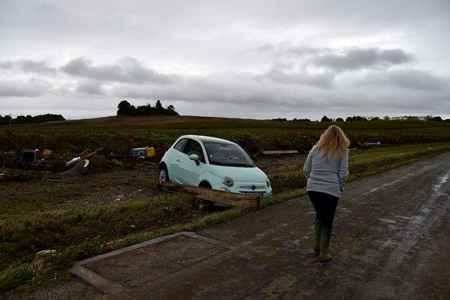 ВоФранции в итоге  неожиданного  наводнения погибли 5 человек