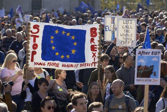 ВЛондоне требуют нового референдума поBrexit