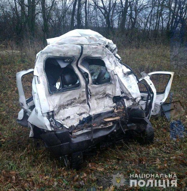 Под Ровно разбился чемпион мира поармреслингу