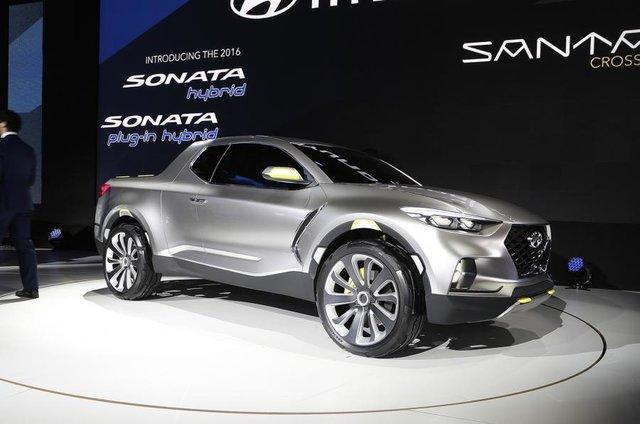 Влинейке Hyundai появится пикап