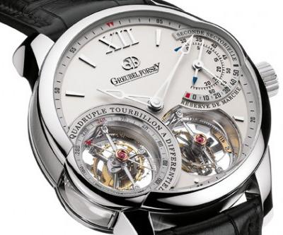 Quadruple Tourbillion, «Greubel Forsey»<br />Цена: $690,000