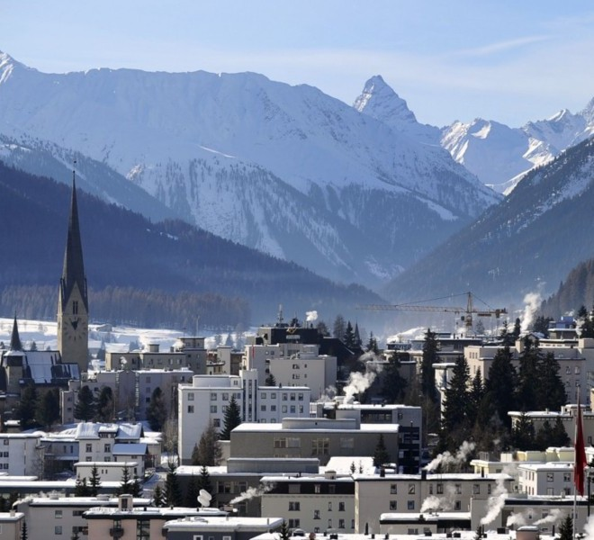 "Picture taken on January 24, 2011 shows the Congress Center where the World Economic Forum annual meeting will take place in Davos. Switzerland has mobilised up to 5,000 soldiers to secure the areas surrounding the alpine village of Davos, where world political and economic leaders are to gather this week. AFP PHOTO /JOHANNES EISELE , A sniper of Swiss police stands on top of the Congress Center on January 25, 2011 in Davos where the World Economic Forum annual meeting will take place . Switzerland has mobilised up to 5,000 soldiers to secure the areas surrounding the alpine village of Davos, where world political and economic leaders are to gather this week. AFP PHOTO /JOHANNES EISELE , Staff install a painting inside the Davos' Congress Center ahead of the World Economic Forum annual meeting on January 25, 2011 in Davos. The eurozone's debt battle and the power shift towards emerging giants like China and India will be at the heart of discussions on a ""fundamentally changed world"" at this week's Davos meeting of global elites.    AFP PHOTO / FABRICE COFFRINI , Empty seats are ready at the Davos' Congress Center ahead of the World Economic Forum annual meeting on January 25, 2011 in Davos. The eurozone's debt battle and the power shift towards emerging giants like China and India will be at the heart of discussions on a ""fundamentally changed world"" at this week's Davos meeting of global elites.    AFP PHOTO / FABRICE COFFRINI , A Swiss police sniper stands on the roof of the Congress Center on January 25, 2011 on the eve of the World Economic Forum annual meeting in Davos. Switzerland has mobilized up to 5,000 soldiers to secure the area surrounding the alpine village of Davos, where world political and economic leaders are to gather this week. AFP PHOTO / JOHANNES EISELE , A Swiss police sniper stands on the roof of the Congress Center on January 25, 2011 on the eve of the World Economic Forum annual meeting in Davos. Switzerland has mobilized up to 5,000 soldiers to secure the area surrounding the alpine village of Davos, where world political and economic leaders are to gather this week. AFP PHOTO / JOHANNES EISELE , A woman cleans stairs of the Congress Center on January 25, 2011 on the eve of the World Economic Forum annual meeting in Davos. Switzerland has mobilized up to 5,000 soldiers to secure the area surrounding the alpine village of Davos, where world political and economic leaders are to gather this week. AFP PHOTO / JOHANNES EISELE , A Swiss police sniper stands on the roof of the Belvedere Hotel on January 25, 2011 in Davos. Switzerland has mobilised up to 5,000 soldiers to secure the areas surrounding the alpine village of Davos, where world political and economic leaders are to gather this week.   AFP PHOTO /JOHANNES EISELE , A Swiss police sniper stands on a roof near the Davos Congress center ahead of the World Economic Forum annual meeting on January 25, 2011 in Davos. Switzerland has mobilised up to 5,000 soldiers to secure the areas surrounding the alpine village of Davos, where world political and economic leaders are to gather this week.     AFP PHOTO / FABRICE COFFRINI , Snipers take position on the roof of the Congress Center on January 25, 2011 on the eve of the World Economic Forum annual meeting in Davos. Switzerland has mobilized up to 5,000 soldiers to secure the area surrounding the alpine village of Davos, where world political and economic leaders are to gather this week. AFP PHOTO / FABRICE COFFRINI , A sniper stands on the roof of the Congress Center on January 25, 2011 on the eve of the World Economic Forum annual meeting in Davos. Switzerland has mobilized up to 5,000 soldiers to secure the area surrounding the alpine village of Davos, where world political and economic leaders are to gather this week. AFP PHOTO / FABRICE COFFRINI , Two Swiss police keep watch during the World Economic Forum annual meeting  on January 26, 2011 in Davos. Switzerland has mobilised up to 5,000 soldiers to secure the areas surrounding the alpine village of Davos, where world political and economic leaders are to gather this week. AFP PHOTO /JOHANNES EISELE , The village of Davos is seen prior to the opening of the World Economic Forum (WEF) on January 23, 2011. The Swiss resort of Davos hosts the WEF from January 26 to 30, 2011.  AFP PHOTO / FABRICE COFFRINI"