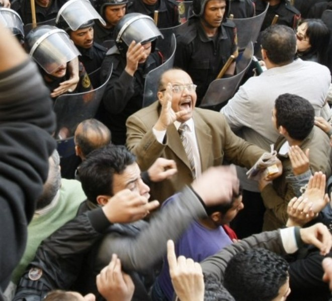 Egyptian demonstrators clash with Egyptian police in central Cairo during a protest to demand the ouster of President Hosni Mubarak and calling for reforms on January 25, 2011. The protesters, carrying flags and chanting slogans against the government, rallied in a protest inspired by the uprising in Tunisia which led to the ouster of Zine El Abidine Ben Ali.  AFP PHOTO/MOHAMMED ABED , Tear gas smoke fired by Egyptian police is seen as demonstrators gather in central Cairo to demand the ouster of President Hosni Mubarak and calling for reforms on January 25, 2011. The protesters, carrying flags and chanting slogans against the government, rallied in a protest inspired by the uprising in Tunisia which led to the ouster of Zine El Abidine Ben Ali.  AFP PHOTO/MOHAMMED ABED , Egyptian demonstrators attack a water-canon truck used by Egyptian police to disperse a protest in central Cairo to demand the ouster of President Hosni Mubarak and calling for reforms on January 25, 2011. The protesters, carrying flags and chanting slogans against the government, rallied in a protest inspired by the uprising in Tunisia which led to the ouster of Zine El Abidine Ben Ali.  AFP PHOTO/MOHAMMED ABED , Egyptian demonstrators clash with Egyptian police in central Cairo during a protest to demand the ouster of President Hosni Mubarak and calling for reforms on January 25, 2011. The protesters, carrying flags and chanting slogans against the government, rallied in a protest inspired by the uprising in Tunisia which led to the ouster of Zine El Abidine Ben Ali.  AFP PHOTO/MOHAMMED ABED , Egyptian demonstrators hold up placards during a protest in central Cairo to demand the ouster of President Hosni Mubarak and calling for reforms on January 25, 2011. The protesters, carrying flags and chanting slogans against the government, rallied in a protest inspired by the uprising in Tunisia which led to the ouster of Zine El Abidine Ben Ali.  AFP PHOTO/MOHAMMED ABED , Egyptian demonstrators demanding the ouster of President Hosni Mubarak and calling for reforms face riot police in Cairo on January 26, 2011. AFP PHOTO/MOHAMMED ABED , Egyptian demonstrators pray in central Cairo during a protest to demand the ouster of President Hosni Mubarak and calling for reforms on January 25, 2011. Thousands of demonstrators took to the streets of Cairo, facing a massive police presence, to demand the ouster of President Hosni Mubarak in a protest inspired by Tunisia's popular uprising. AFP PHOTO/MOHAMMED ABED , Egyptian demonstrators clash with Egyptian police in central Cairo during a protest to demand the ouster of President Hosni Mubarak and calling for reforms on January 25, 2011. Thousands of demonstrators took to the streets of Cairo, facing a massive police presence, to demand the ouster of President Hosni Mubarak in a protest inspired by Tunisia's popular uprising. AFP PHOTO/MOHAMMED ABED , Egyptian demonstrators shout slogans as they attend a protest in Cairo demanding the ouster of President Hosni Mubarak on January 26, 2011. Egyptian police clashed with protesters in the centre of Cairo and in the port city of Suez, in the second day of nationwide anti-government demonstrations, an AFP reporter and witnesses said.  AFP PHOTO/MOHAMMED ABED , Egyptian demonstrators demanding the ouster of President Hosni Mubarak and calling for reforms clash with riot police in Cairo on January 26, 2011. AFP PHOTO/MOHAMMED ABED , Egyptian demonstrators demanding the ouster of President Hosni Mubarak and calling for reforms face riot police in Cairo on January 26, 2011. AFP PHOTO/MOHAMMED ABED , Egyptian demonstrators demanding the ouster of President Hosni Mubarak and calling for reforms face riot police in Cairo on January 26, 2011. AFP PHOTO/MOHAMMED ABED , Egyptian demonstrators demanding the ouster of President Hosni Mubarak and calling for reforms face riot police in Cairo on January 26, 2011. AFP PHOTO/MOHAMMED ABED