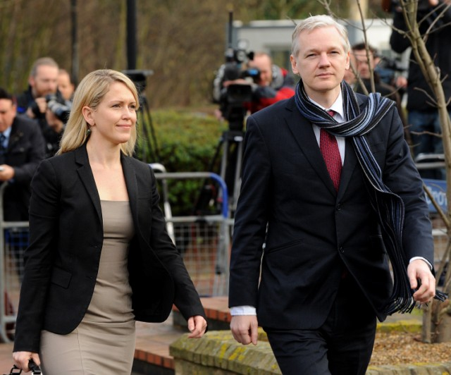 The founder of WikiLeaks Julian Assange, right, and his lawyer Jennifer Robinson arrive for his extradition hearing at Belmarsh Magistrates' Court in London, Thursday, Feb. 24, 2011.  WikiLeaks founder Julian Assange is to appear in court Thursday to hear if he'll be extradited to Sweden to face sex-crimes allegations.  Swedish prosecutors want to question Assange about accusations of sexual abuse from two women relating to a brief visit there last summer. He has denied any wrongdoing and has not been charged.  (AP Photo/Matt Dunham), WikiLeaks founder Julian Assange (R) arrives with his lawyer Jennifer Robinson at Belmarsh Magistrates' Court, in south-east London, on February 24, 2011.  Julian Assange was Thursday to discover if he was to be extradited to Sweden to face rape charges after his lawyer admitted that the ruling looked set to go against the WikiLeaks founder. The ruling by Judge Howard Riddle at Belmarsh Magistrates Court was unlikely to be the final word, with the losing party expected to lodge an appeal which would postpone the ultimate decision until as late as Britain's summer. AFP PHOTO/BEN STANSALL