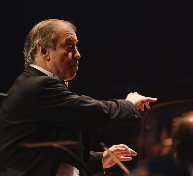 LONDON, ENGLAND - MARCH 30:  Conductor Valery Gergiev performs at the Gorby 80 Gala at the Royal Albert Hall on March 30, 2011 in London, England. The concert is to celebrate the 80th birthday of the former Soviet leader Mikhail Gorbachev.  (Photo by Ian Gavan/Getty Images)
