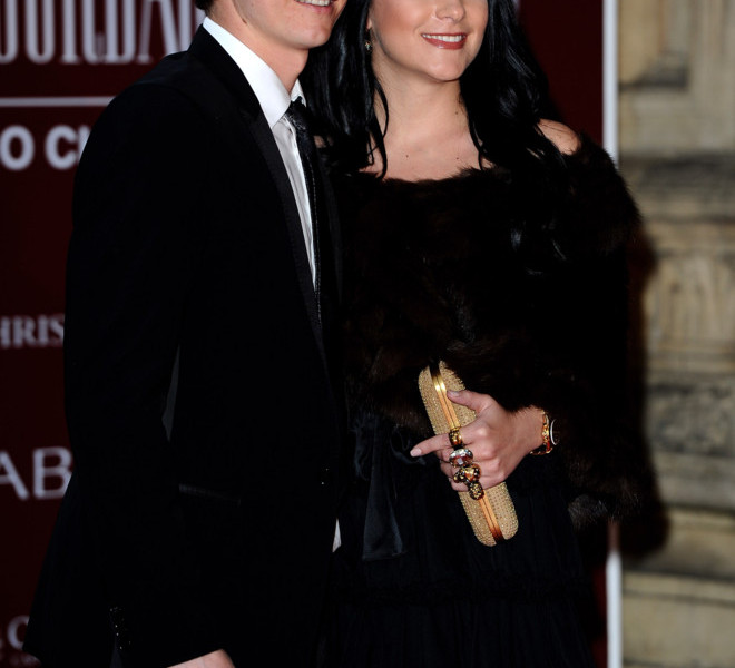 LONDON, ENGLAND - MARCH 30:  Arsenal footballer Andrey Arshavin and his wife Yulia Arshavin attend the Gorby 80 Gala at the Royal Albert Hall on March 30, 2011 in London, England. The concert is to celebrate the 80th birthday of the former Soviet leader Mikhail Gorbachev.  (Photo by Ian Gavan/Getty Images)