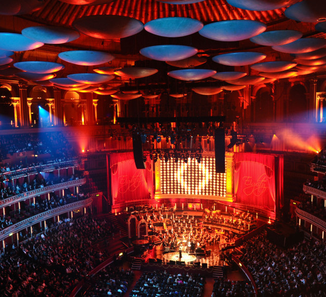 LONDON, ENGLAND - MARCH 30: General view of the interior during the Gorby 80 Gala at the Royal Albert Hall on March 30, 2011 in London, England.  The concert is to celebrate the 80th birthday of the former Soviet leader Mikhail Gorbachev.  (Photo by Ian Gavan/Getty Images)