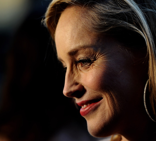 LONDON, ENGLAND - MARCH 30:  Actress Sharon Stone attends the Gorby 80 Gala at the Royal Albert Hall on March 30, 2011 in London, England. The concert is to celebrate the 80th birthday of the former Soviet leader Mikhail Gorbachev.  (Photo by Ian Gavan/Getty Images)